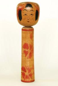 21.1cm(昭和6年ころ)(深沢コレクション) 木人子室蔵と同時期であるが作風は一定していない。 胴模様はやはりヤス描彩であろう。