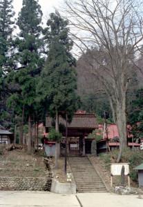 示現寺門前(昭和47年)