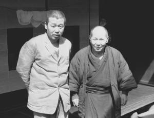右:小林吉三郎 左:小林清次郎 昭和43年