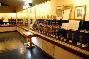 深沢コレクションの展示室
