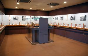 西田記念館 展示室