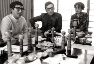 研究会会場の様子  昭和48年1月