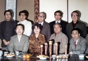 井の頭こけし研究会のメンバー(この他に土橋慶三もメンバーであった) 昭和48年1月 井の頭日本無線クラブ