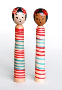 〔右より 18.4cm、18.7cm(昭和50年5月)(橋本正明)〕粂松型