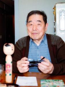 村田徳次 平成13年 〈伊勢こけし会だより・91号〉より