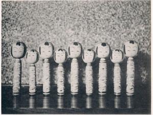 〈こけし襍記〉図版8 木村有香撮影