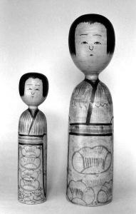 〔43.8cm(昭和8年)、30.0cm(昭和10年頃)(西澤童宝玩具研究所旧蔵)〕