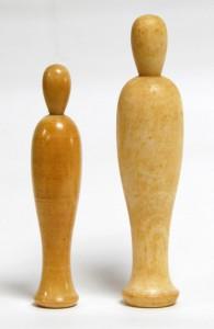 〔右より 14.7cm(昭和36年)(河野武寛)、12.3cm(昭和36年)(池上明)〕 キナキナ