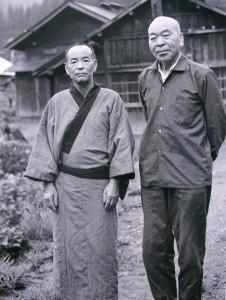 右:佐藤丑蔵 左:佐藤甚吉