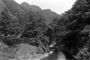 落合滝 昭和45年撮影