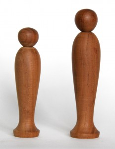 「右より 11.5cm、9.8cm(平成5年)(橋本正明)〕