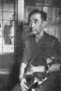 鈴木国蔵 昭和31年8月 大浦泰英撮影