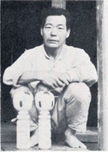 佐藤吉雄 昭和35年8月 撮影:大浦泰英