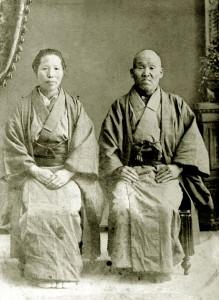 渡邉作蔵、クラ夫妻