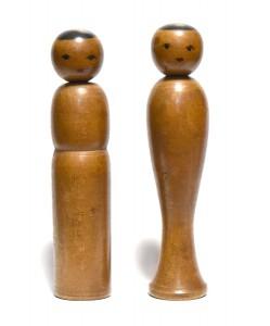 〔右より 15.2cm、14.8cm(明治末期)(高橋五郎)〕 天江富弥旧蔵