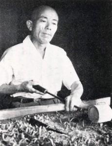 小椋啓太郎 昭和31年8月 大浦泰英撮影