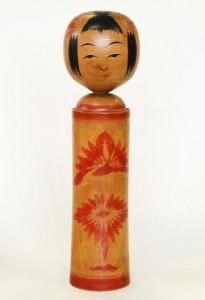 〔27.8cm(昭和15年頃)(日本こけし館)〕 深沢コレクション
