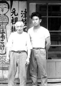 盛秀太郎と奥瀬鉄則 昭和43年