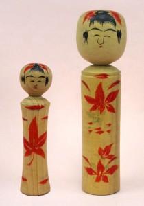 〔右より 19.7cm、13.9cm(昭和16年)(西田記念館)〕 西田峯吉旧蔵