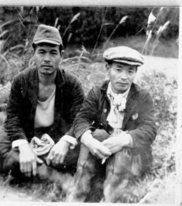 左:佐藤雅雄 右:渡辺幸九郎