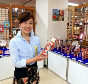 梅木直美 平成25年5月 横浜高島屋