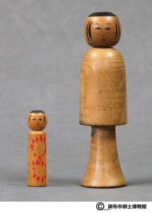 〔右より 18.5cm、6.5cm(正末昭初)(調布市郷土博物館)〕 加藤文成コレクション