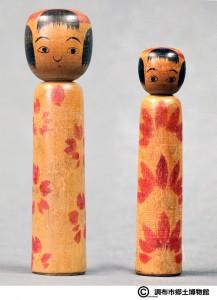 〔右より 14.5cm、17.5cm(正末昭初)(調布市郷土博物館)〕 加藤文成コレクション
