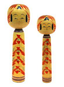 〔右より 21.2cm、24.2cm(昭和18年)(西田記念館)〕 西田コレクション