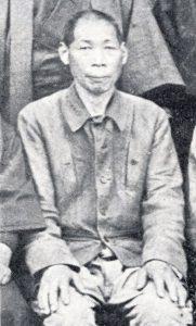 小倉嘉三郎 昭和17年 村会議員の時