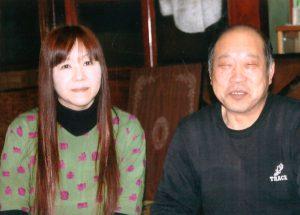 佐藤こずえ 右は師匠 菅原修 平成28年2月