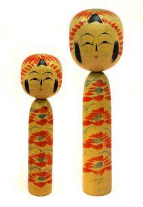 〔右より 24.6cm、18.5cm(昭和16年)(西田記念館)〕 西田コレクション