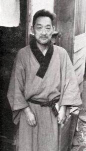 佐藤喜一 昭和38年5月 撮影:柴田長吉郎