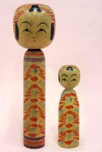 〔右より 12.4cm、21.8cm(昭和17年)(西田記念館)〕 西田コレクション